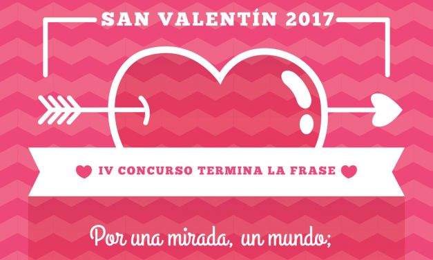 Frase Ganadora IV Concurso San Valentín
