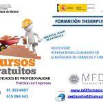 Certificado Profesionalidad Gratuito Albañilería