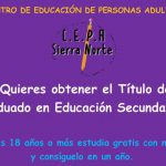 CEPA: Abierto Plazo Matriculación