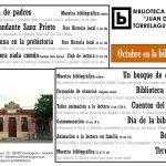 Octubre en la Biblioteca de Torrelaguna