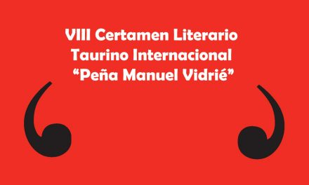 Obra ganadora del VIII Certamen Literario Taurino