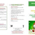 Programación Casa de la Cultura Navidad