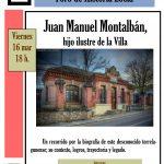 Foro de Historia sobre Juan Manuel Montalbán