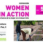 Exposición sobre la mujer y el desarrollo