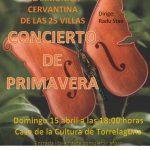 Domingo 15: Concierto Orquesta Juvenil Cervantina