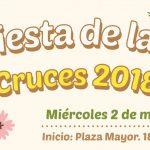 Miércoles 2 de mayo: Fiesta de las Cruces