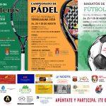 Campeonatos Frontón, Pádel y Fútbol Sala