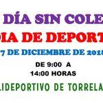 7 de diciembre: día sin cole, día de deporte