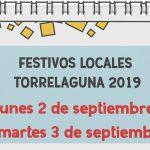 Festivos Locales Torrelaguna 2019
