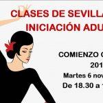 Clases Sevillanas Adultos Iniciación