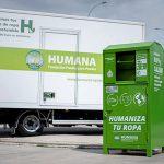 Contenedores de ropa: Humana recoge 22.200 prendas