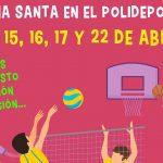Semana Santa en el Polideportivo