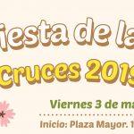 Viernes 3 de mayo: Fiesta de las Cruces