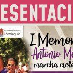 Sábado 27: Presentación I Memorial Antonio Martín