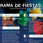 Programa Fiestas Patronales 2019