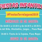 Actos Infantiles Fiestas Torrelaguna 2019