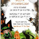 Taller de decoración Halloween