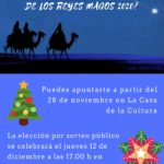 Participa en la Cabalgata de Reyes 2020