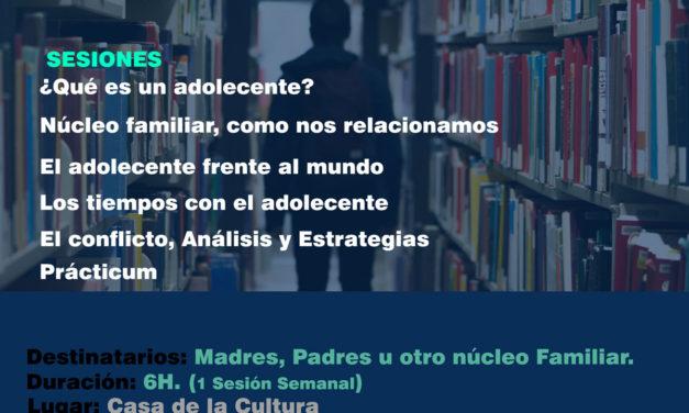 """Curso formativo: """"Educar en la adolescencia, estrategias de intervención"""""""