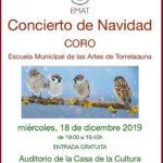 Concierto de Navidad en la Casa de la Cultura