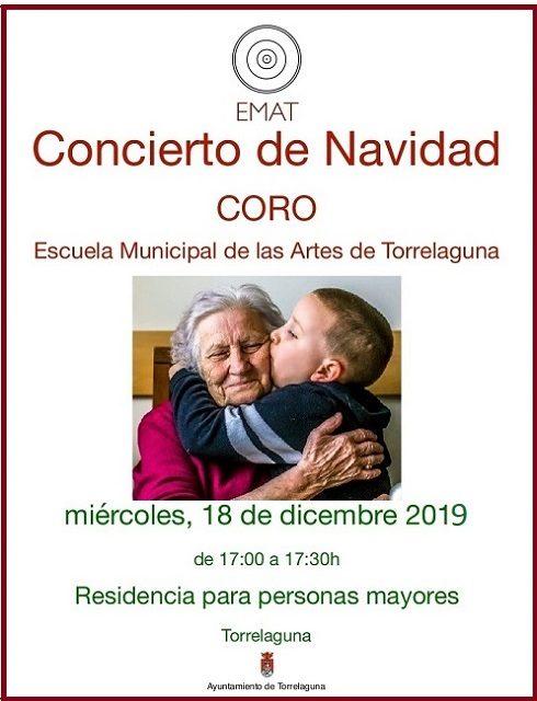 Concierto de Navidad en la Residencia de Mayores de Torrelaguna