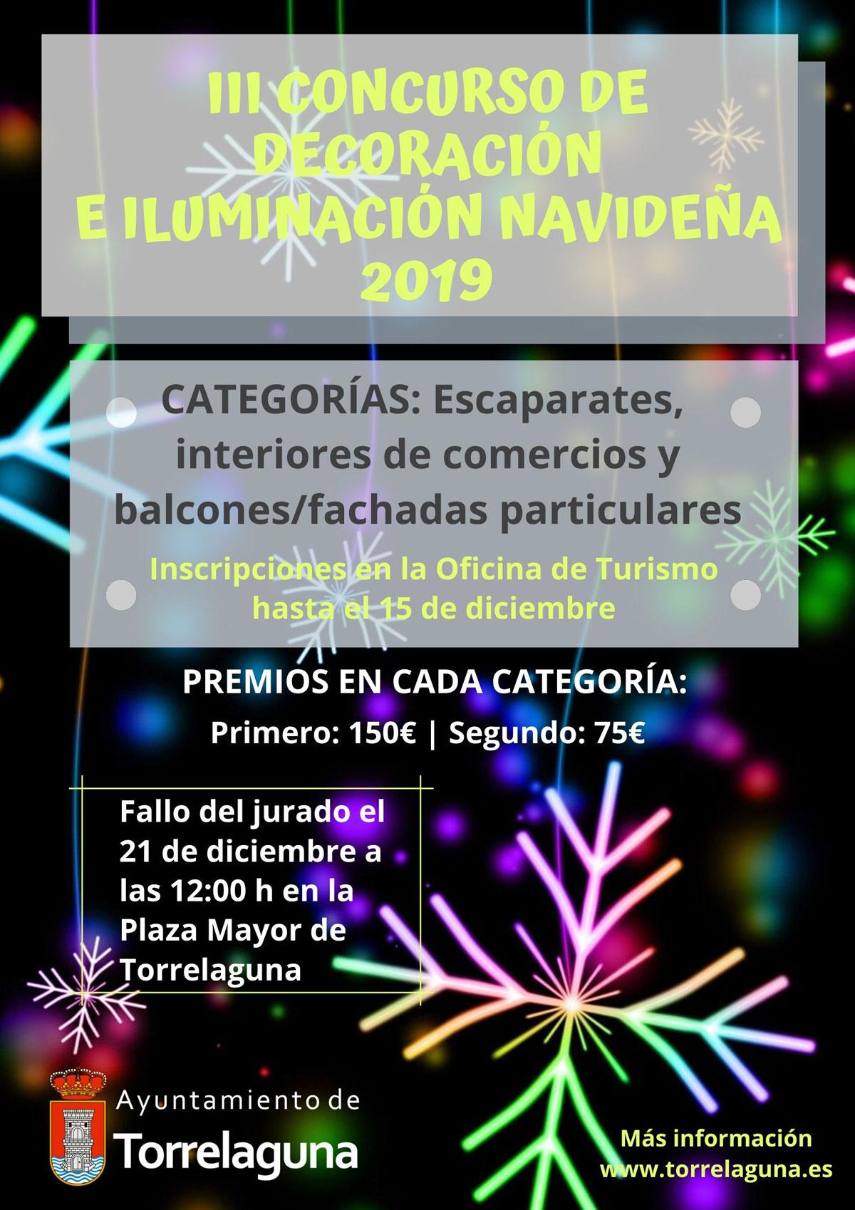 III Concurso de decoración e iluminación navideña 2019 Torrelaguna
