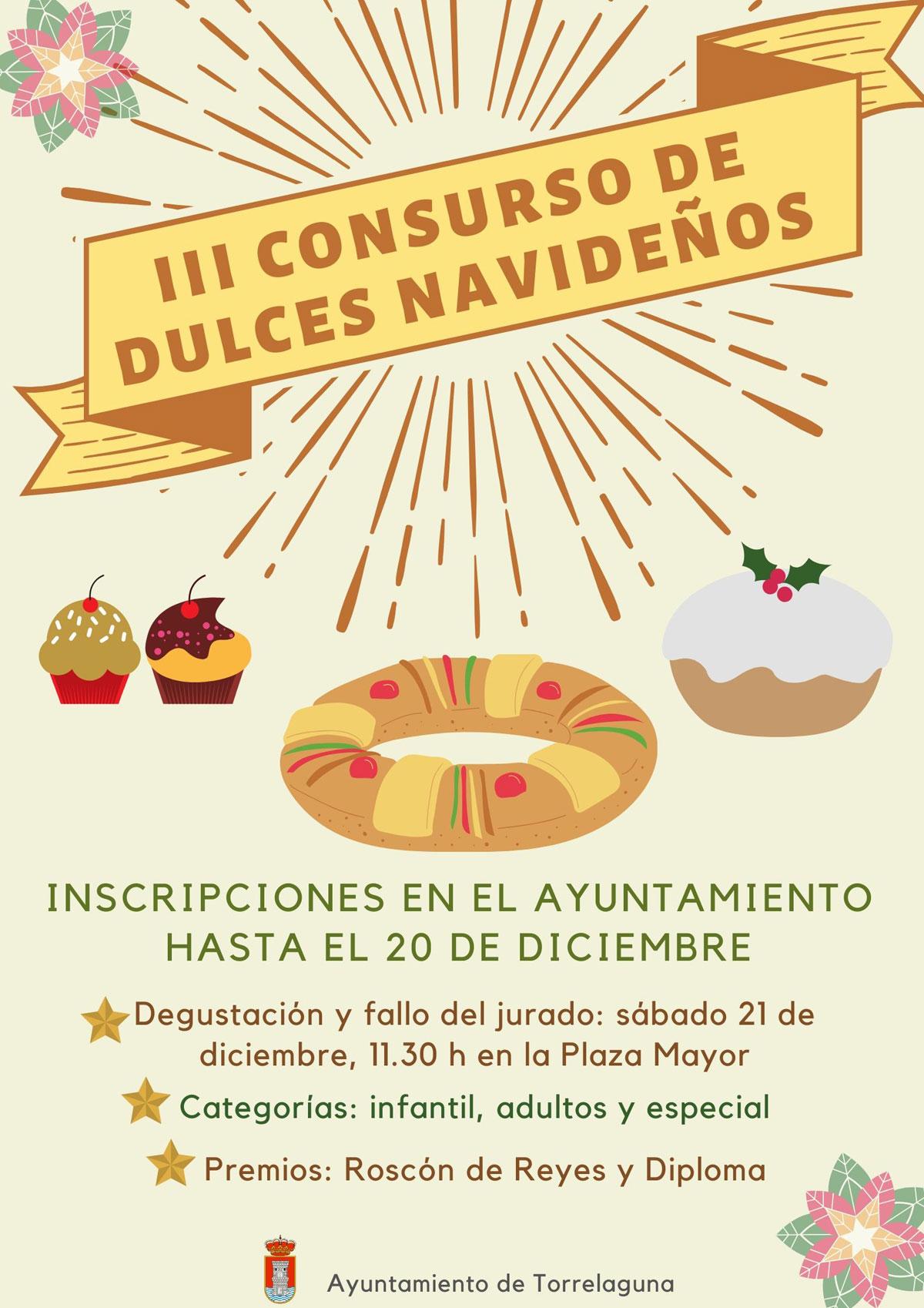 III Concurso de dulces navideños Torrelaguna 2019