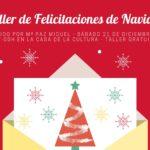 Taller gratuito de Felicitaciones de Navidad