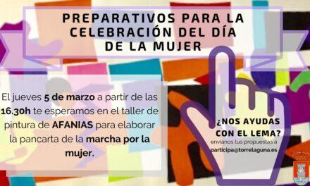 Preparativos para la celebración del Día de la Mujer 2020