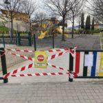 Comunicado del alcalde de Torrelaguna notificando el cierre temporal de los parques infantiles del municipio