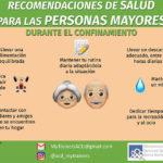 Recomendaciones de salud para las personas mayores durante el confinamiento