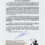 Nota informativa del alcalde debido a la relajación en las medidas de confinamiento de algunos vecinos