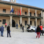 Entrega de mascarillas de protección a los vecinos de Torrelaguna