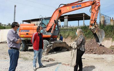 Iniciadas las obras para la construcción del Punto Limpio de Torrelaguna