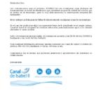 Canal de Isabel II informa del corte de suministro programado 27 de mayo 2020