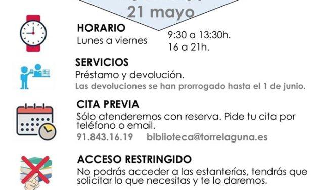 La Biblioteca Juan de Mena reabre sus puertas el jueves 21 de mayo