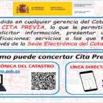 Sistema de cita previa en el Catastro y asistente de comunicación Catastro-Ciudadano