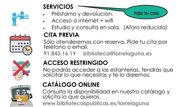 Nuevos servicios de la Biblioteca a partir del 22 de junio