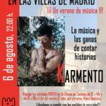 Música en las Villas de Madrid. ¡Un verano con música! KARMENTO