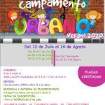 Campamento Urbano en la Casa de Cultura, verano 2020