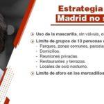 Nuevas medidas de la Comunidad de Madrid ante el COVID-19