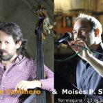 Actuación de Pablo Caminero y Moisés P. Sánchez en Torrelaguna