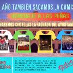 Homenaje a las peñas de Torrelaguna en un año sin fiestas