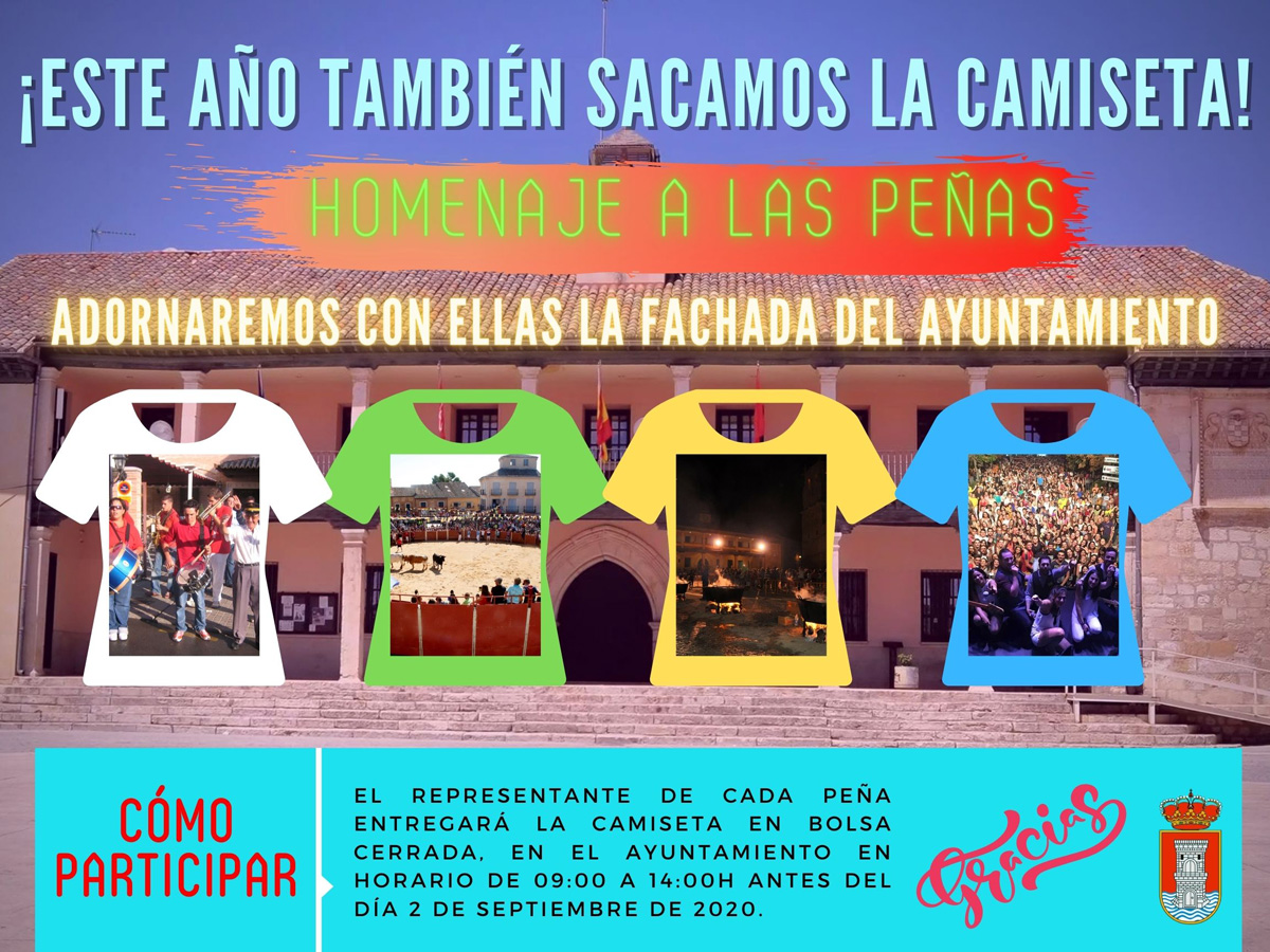 Homenaje a las peñas de Torrelaguna 2020