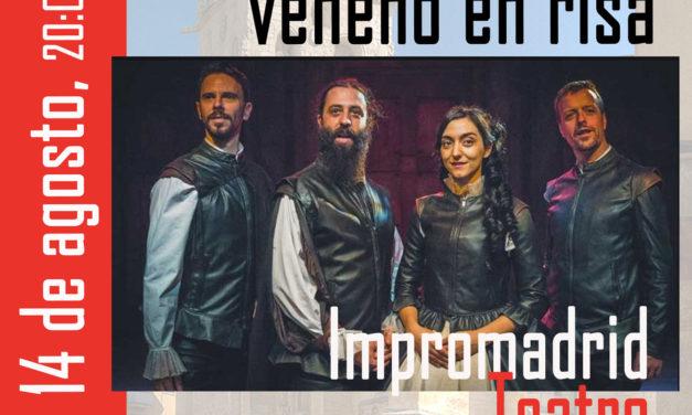 """Festival Juntos 2020: """"A nadie se le dio veneno en risa"""" Impromadrid Teatro"""