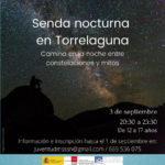 Senda nocturna en Torrelaguna