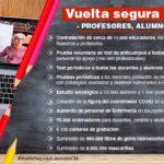 Curso 2020/2021 – La  Comunidad de Madrid anuncia el programa de vuelta segura a las aulas