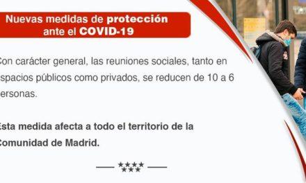 Nuevas medidas preventivas para hacer frente a la crisis sanitaria ocasionada por el COVID-19