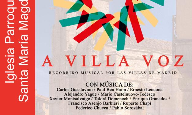 A VILLA VOZ. Concierto de la  Fundación Orquesta y Coro de la Comunidad de Madrid en Torrelaguna