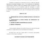 Convocatoria Pleno ordinario día 30 de septiembre